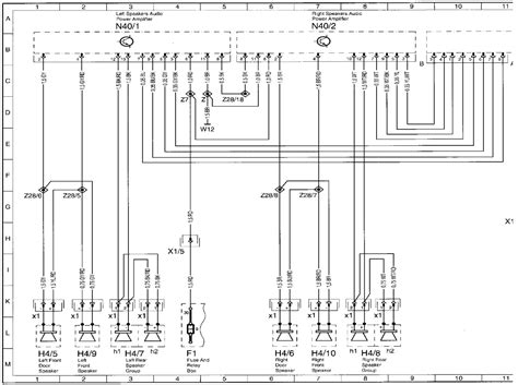 mercedes fuse box diagram wiring diagram schemes