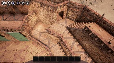 how to build circles spiral stairs and arena in the conan exiles