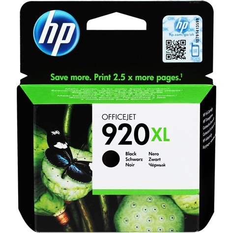 Hp 920 Xl hp 920xl siyah black kartu蝓 cd975ae avansas
