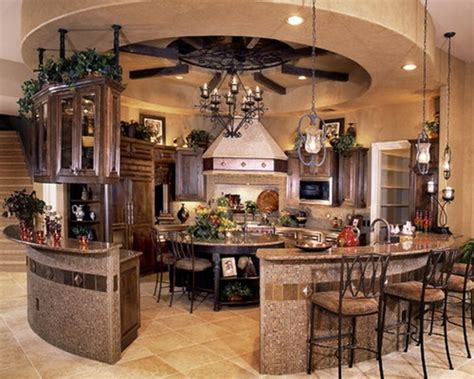 Round Kitchen Design | modern round kitchen island interesting ideas interior