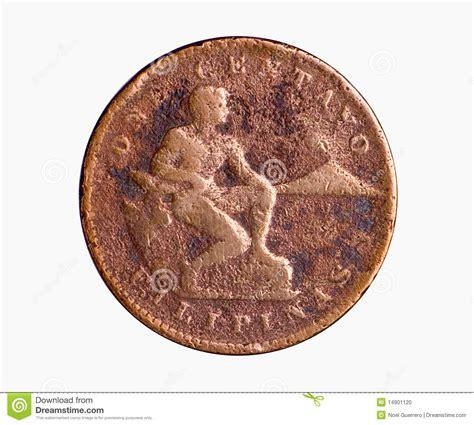 american era copper coin stock photo image 14901120