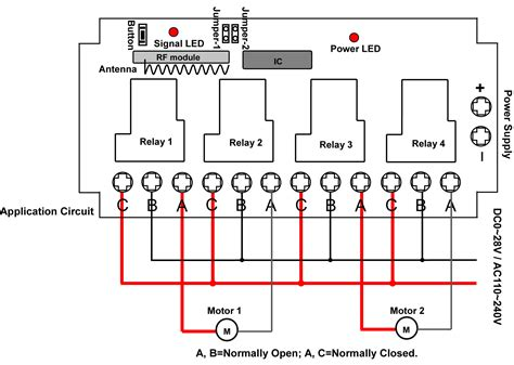 garage door opener remote circuit diagram garage