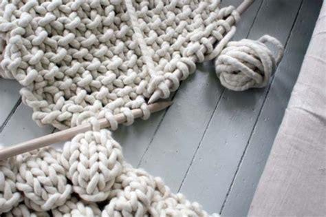 tappeto ovvio tricoter un tapis