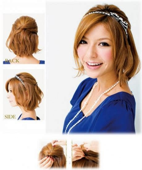 open hair hairstyles at home home hairstyles for short hair