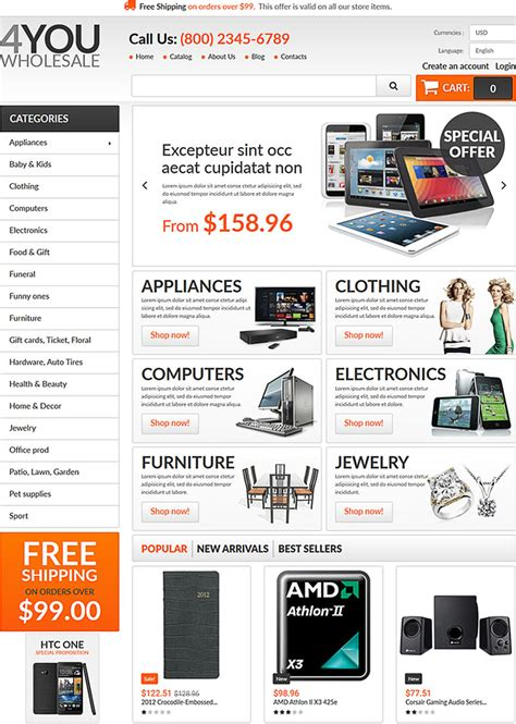 volusion responsive template volusion templates for sale 28 images 5 best volusion