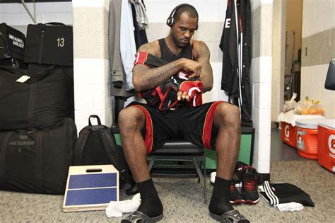 miami heat locker room lebron grows up king through the years photos