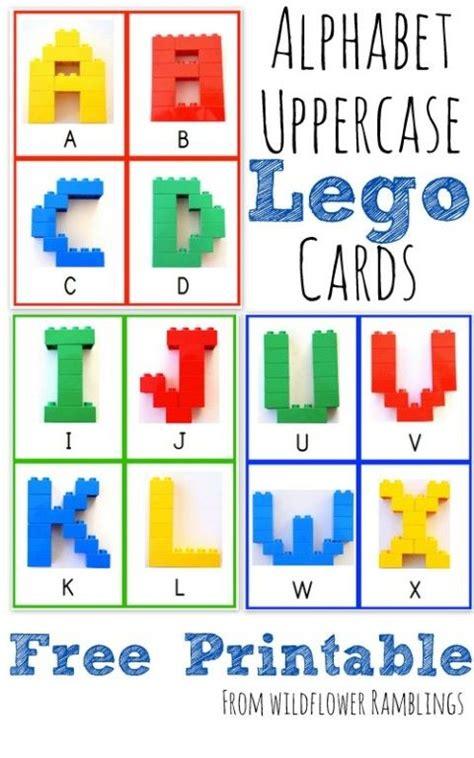 printable lego card alphabet lego cards uppercase free printable alphabet