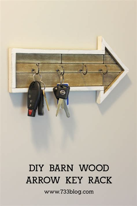 diy arrow key rack inspiration made simple