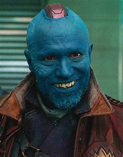 Marvel Guardian Of The Galaxy Yondu rooker talks yondu quot more handsome quot in the sequel bolden and more michael rooker