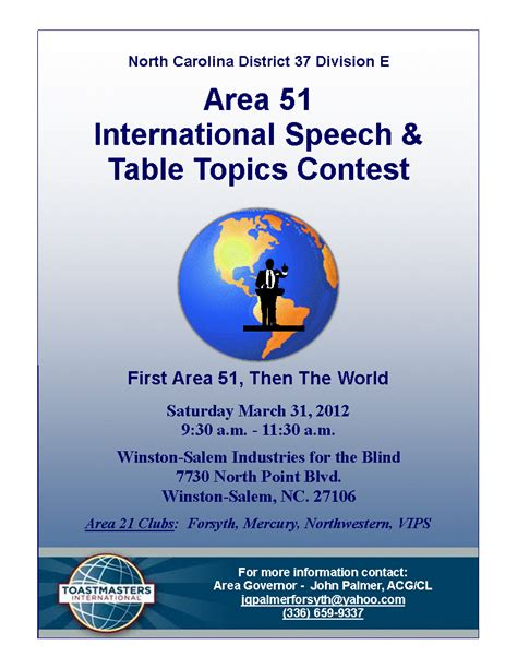 toastmasters table topics division e toastmasters area 51 international speech table topics contest
