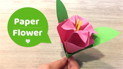 Make Paper L - diy paper flowers craft l easy to make with