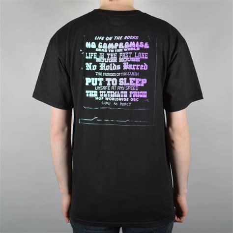 Tshirt Huf Dbc huf dbc gradient t shirt black skate clothing from