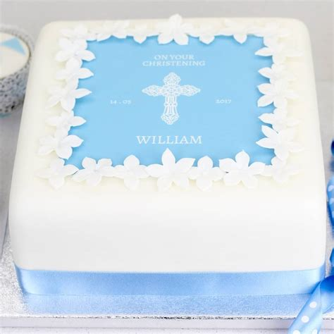 Decorating by Christening Cake Or Baptism Cake Decorating Kit By Clever