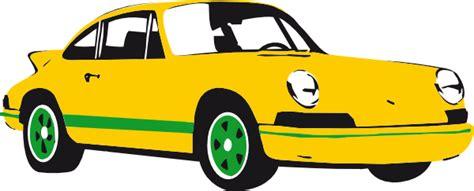 yellow porsche png yellow porsche clip at clker com vector clip
