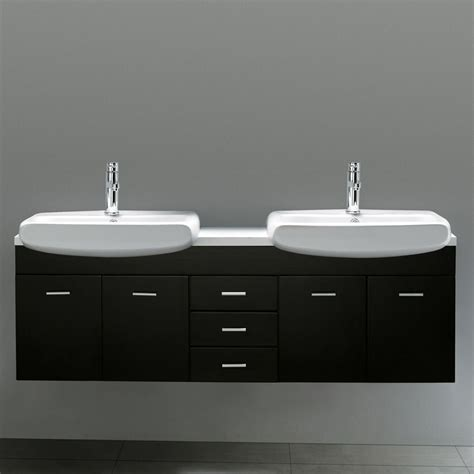 double sink wall mounted vanity 59 quot raynor double sink wall mount vanity