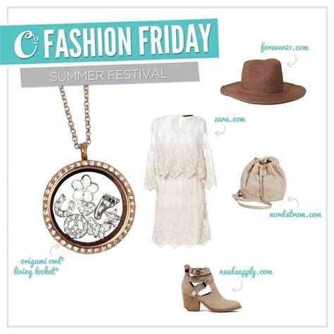 Origami Owl Summer - fashion friday with origami owl endless possibility www