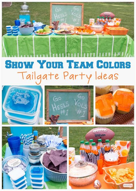 Backyard Football 08 Show Your Team Colors Tailgating Party Ideas Atta Says