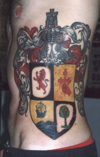 family tattoo placement 1000 images about coat of arms crest tattoos on