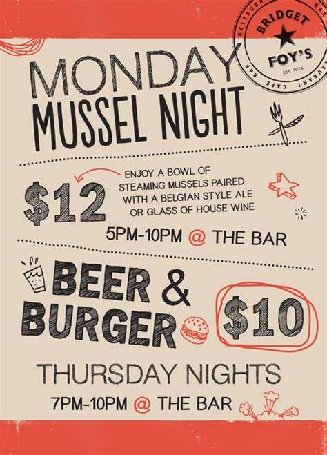 Bar Giveaways - bar promotions philadelphia restaurants south street bridget foys