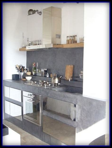 material para cocinas modelos de gabinetes para cocinas modernas en cemento