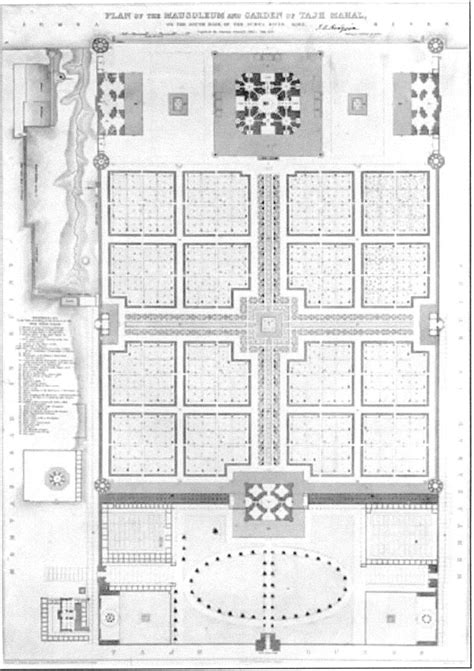 taj mahal floor plan taj photo 36