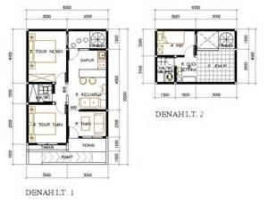 rumah mungil untuk nenek 60 m2 kilausurya s