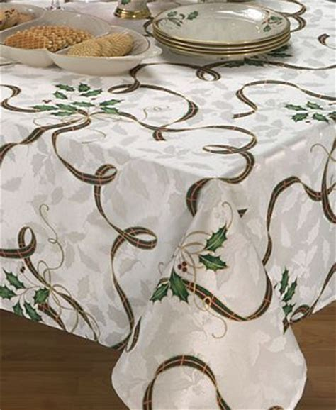 lenox table linens 70 quot nouveau ribbon