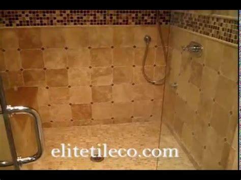 master bathroom chiseled travertine shower http limestone travertine tile master bathroom and showerstall