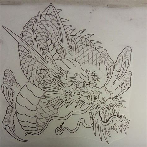 tattoo sketch dragon awesome dragon drag 227 o pinterest dragons tattoo and