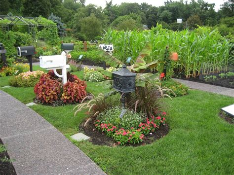 Mailbox Garden Ideas Basic Design Principles And Styles For Garden Beds