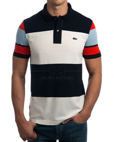 Lacoste Sport Polo Original lacoste polo yachting stripes best price