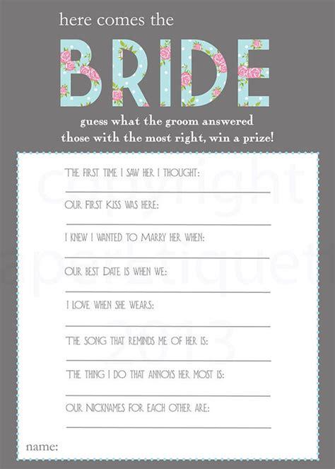 creative bridal shower games   fun