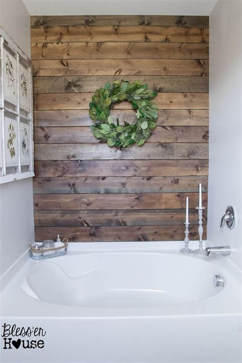 Installing Shiplap In Bathroom 25 Best Ideas About Plank Wall Bathroom On