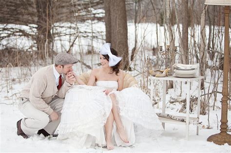 winter wedding ideas decoration - Winter Garden Wedding