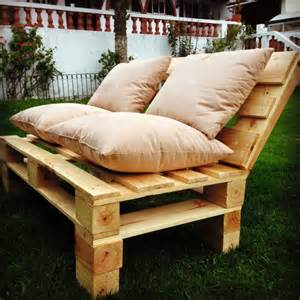 Long Outdoor Bench Cushions Pallet Patio Sofa Set 101 Pallets