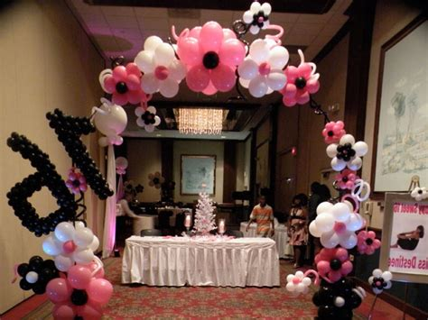 How To Make Sweet Decorations by The Special And Sweet 16 Decorations The Home