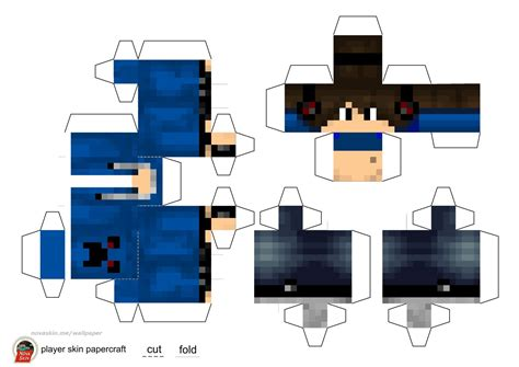 Minecraft Papercraft Boy - papercraft minecraft skins www imgkid the image