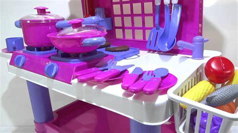 ww juegos de cocina cocina rosada de juguete para ni 241 as con luces y sonidos