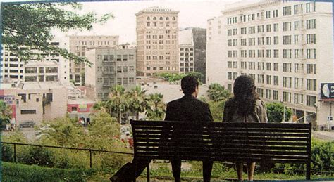 tom s bench in 500 days of summer 500days com