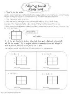 multiplying polynomials coloring activity free multiply binomials activity sheet polynomials