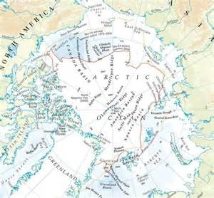 arctic circle map map of arctic arctic map