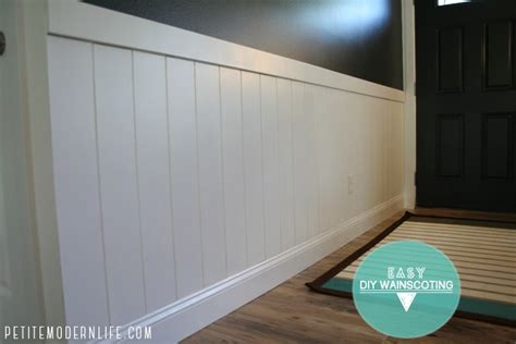Easy Wainscoting Diy by Easy Diy Wainscoting Modern