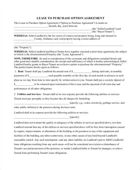 purchase contract template purchase contract template 9 free word pdf documents