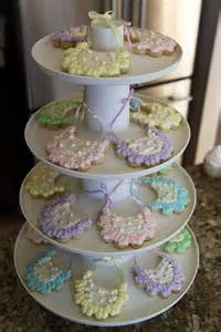 baby shower dessert displays