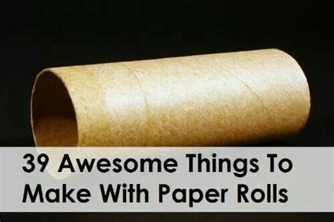 Things To Make From Toilet Paper Rolls - 118 best images about on things to make