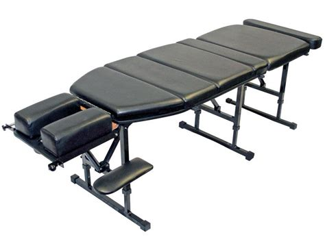portable chiropractic tables custom craftworks basic portable chiropractic table
