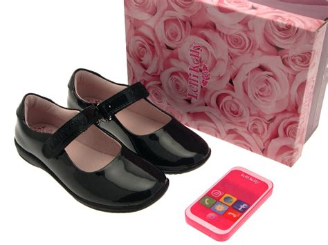 size 2 black dolly shoes new lelli school shoes dolly black