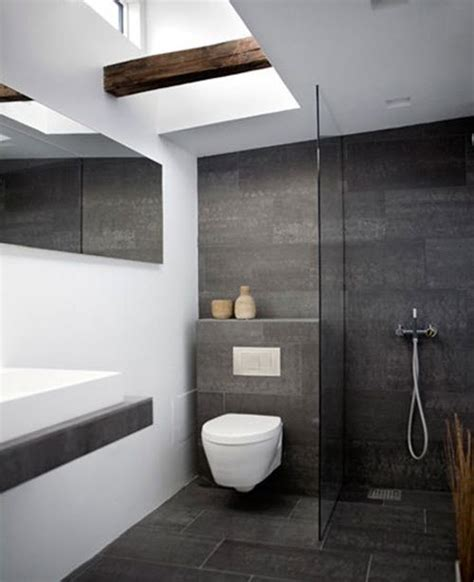 bathroom with slate tile 33 black slate bathroom floor tiles ideas and pictures