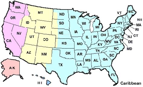 us map states initials abbreviations for the states