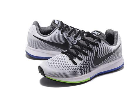 Jogger 34 Nike Trainer nike air zoom pegasus 34 em running shoes sneakers trainers grey black white 831350 008